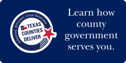 Texas Counties Deliver Button