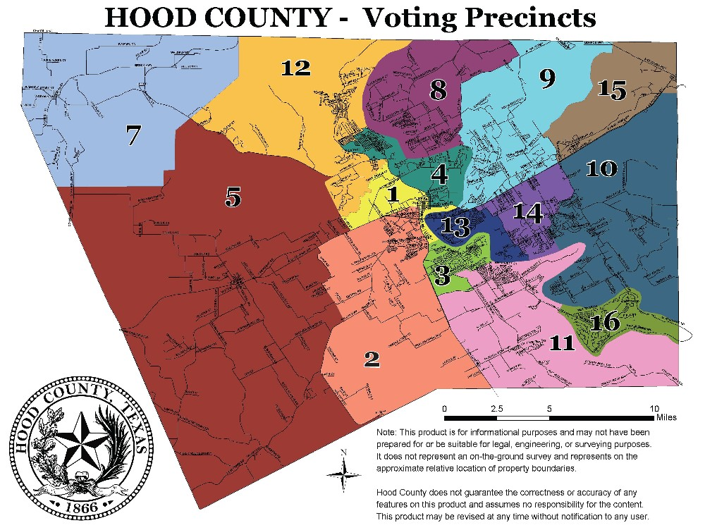 Voting Maps | Hood County, TX - Official Website